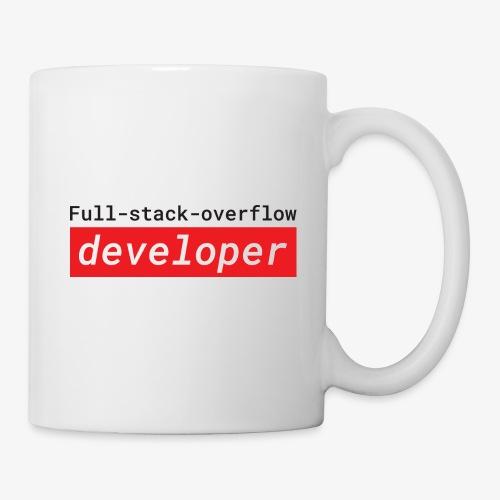 Full stack overflow developer | programmer jokes - Mug
