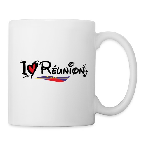 i love Réunion - MAHAVELI - Mug blanc