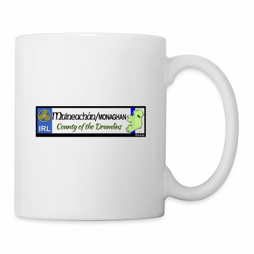 MONAGHAN, IRELAND: licence plate tag style decal - Mug