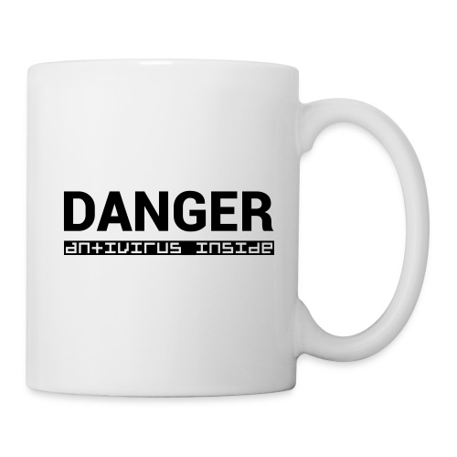 DANGER_antivirus_inside - Mug