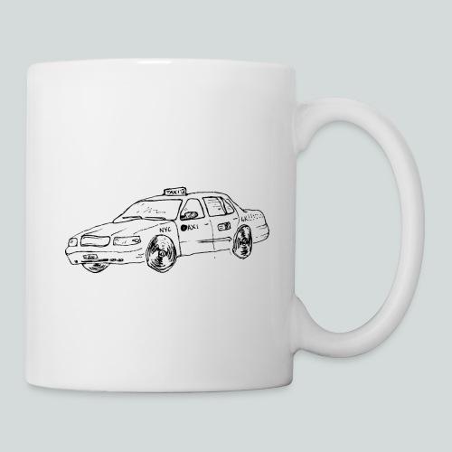Taxi new yorkais - Mug blanc