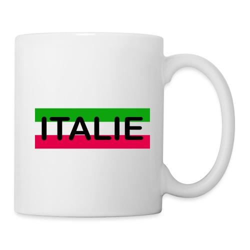 Drapeau Italie - Mug blanc