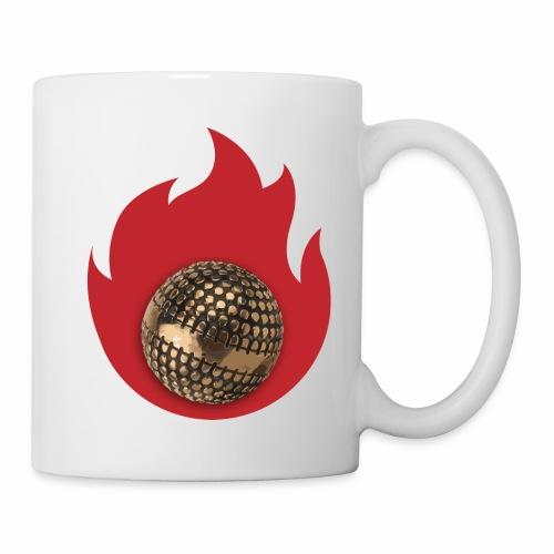 petanque fire - Mug blanc
