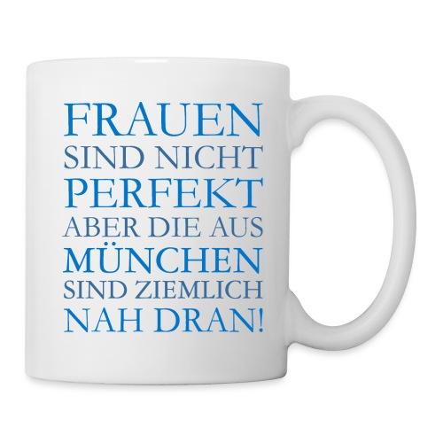 Frauen aus München (Blau) - Tasse