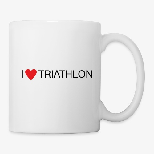 I LOVE TRIATHLON - Tasse