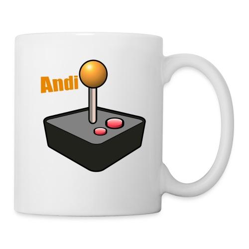 Andi GAME TV (White) - Tasse