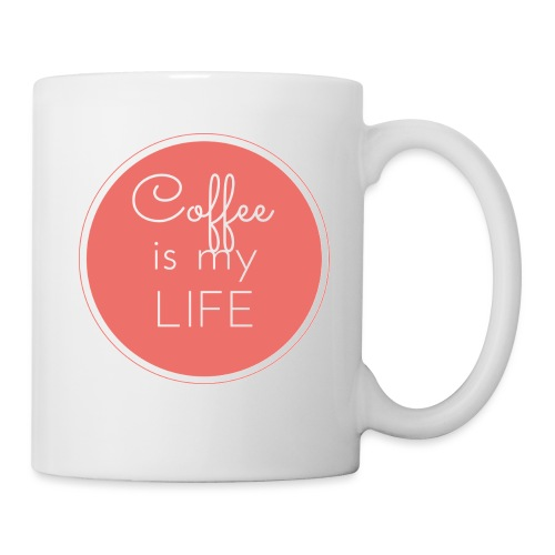 Coffee is my life - Taza
