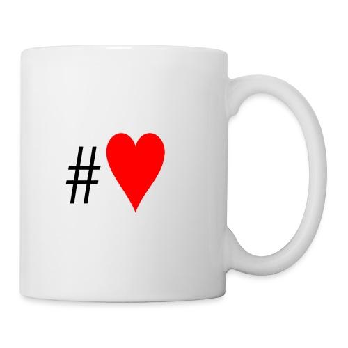 Hashtag Heart - Mug