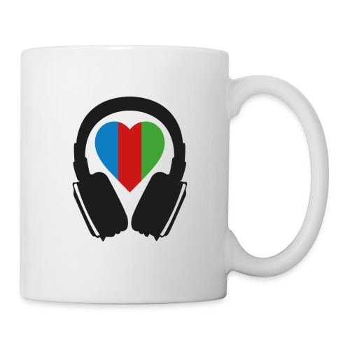 Silent Disco Headphone > Heart | black - Tasse