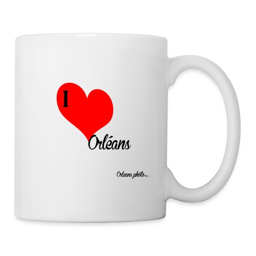 Iloveorléans png - Mug blanc