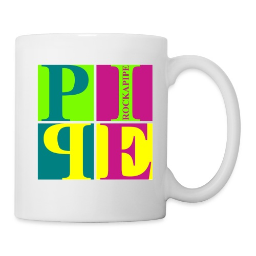 PipeArt - neon - Tasse