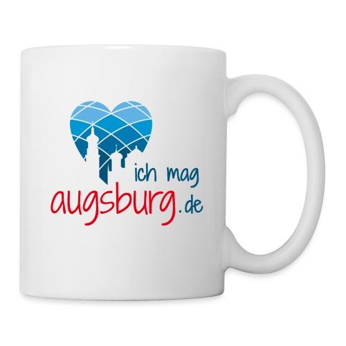 ichmagaugsburg logo - Tasse