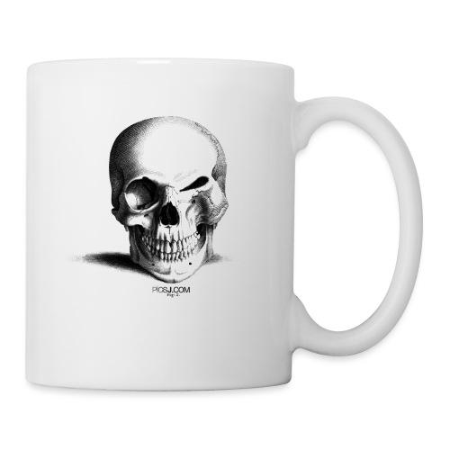 Happy Skull - Mug blanc