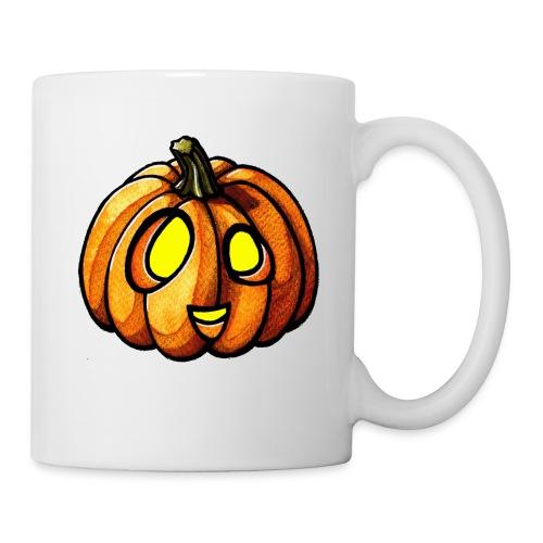 Pumpkin Halloween watercolor scribblesirii - Kop/krus