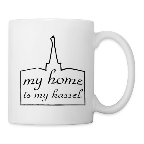 my home is my kassel - Tasse