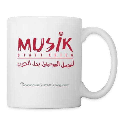msk_Design_rot - Tasse