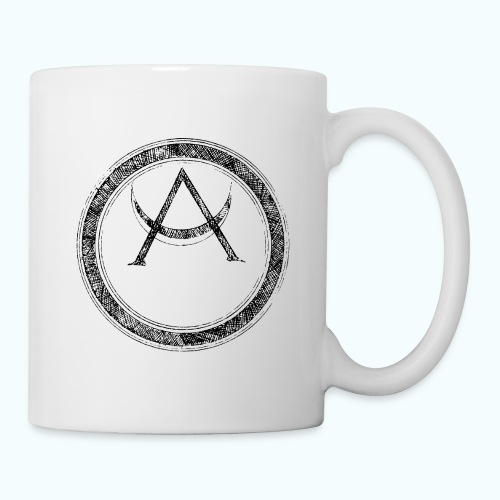 Mystic motif with sun and circle geometric - Mug