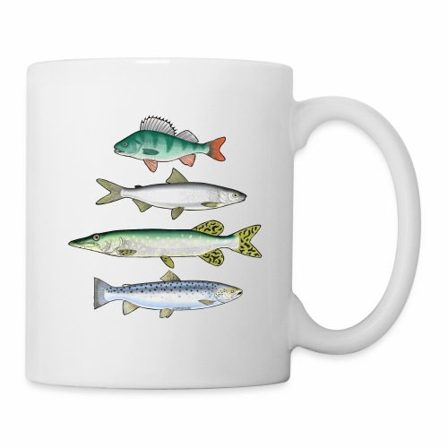 FOUR FISH - Ahven, siika, hauki ja taimen tuotteet - Muki