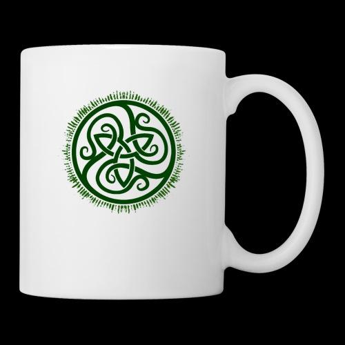 Green Celtic Triknot - Mug