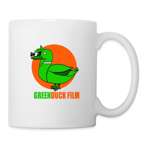 Greenduck Film Orange Sun Logo - Kop/krus