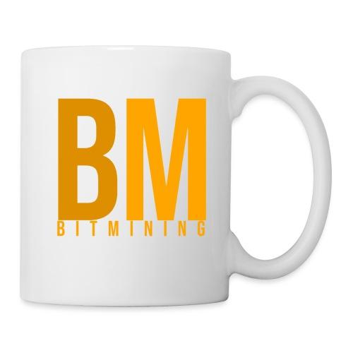 BitMining official Logo - Mug blanc