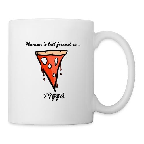 pizza is human's best friend - Tazza