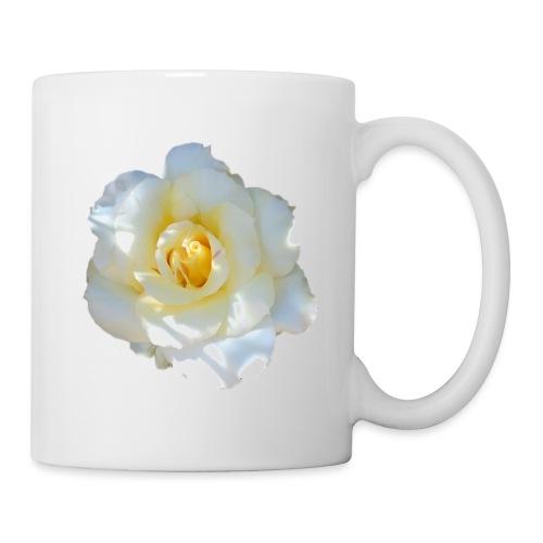 A white rose - Mug