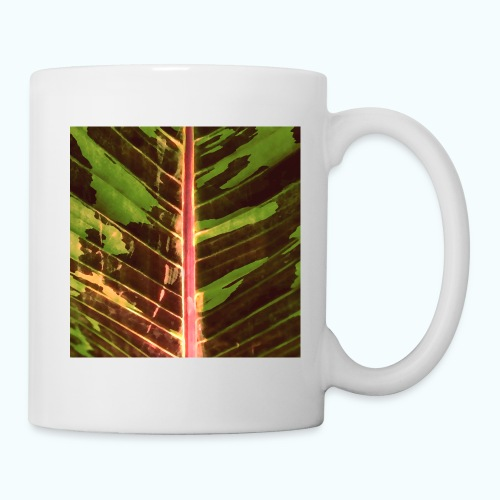 Bananas leaf watercolor - Mug