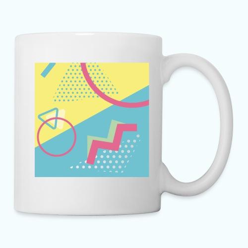 Pastel turquoise geometry - Mug