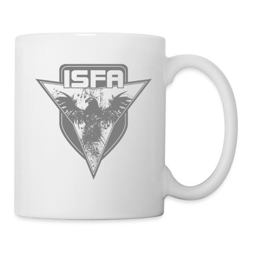 isfa logo 1c grau - Tasse