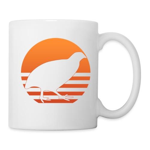Retro Wachtel Geschenkidee Design Wachteln Logo - Tasse