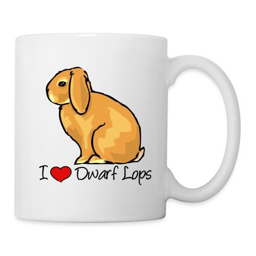 Dwarf Lop Rabbit - Mug