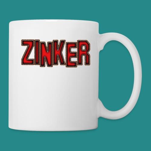 Zinker Logo weiß - Tasse