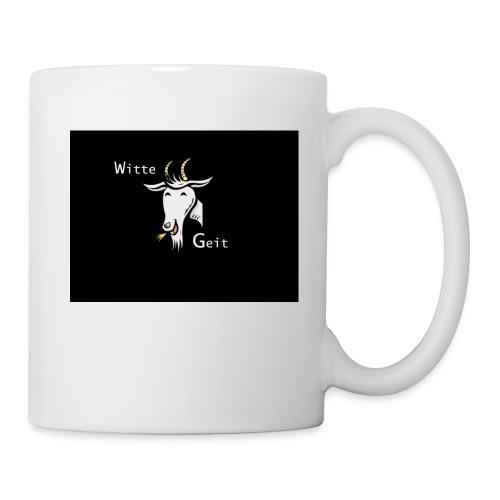 witte geit - Mok