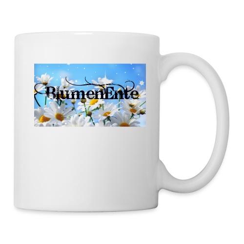 BlumenEnte - Tasse