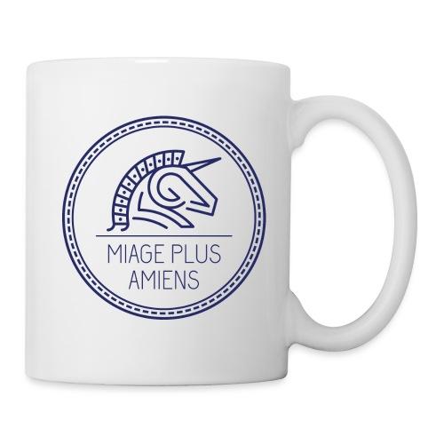 logo_2017-bleu - Mug blanc