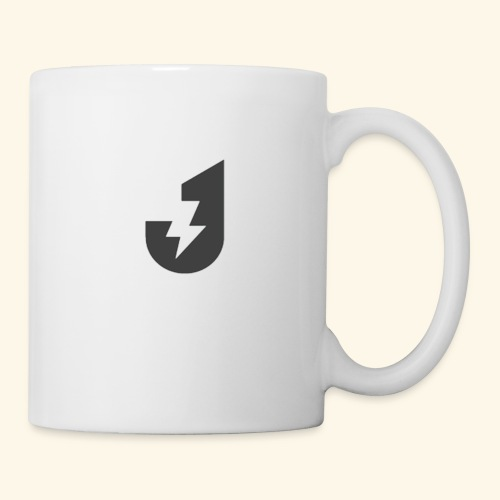 Large J Logo Print - Mug