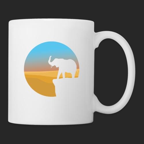 Sunset Elephant - Mug