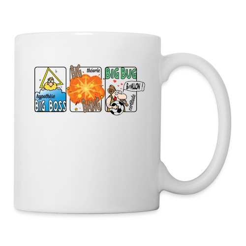 big boss big bang big bug - Mug blanc
