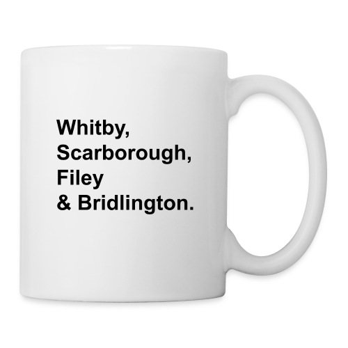 TYS Yorkshire Coast Towns - Mug