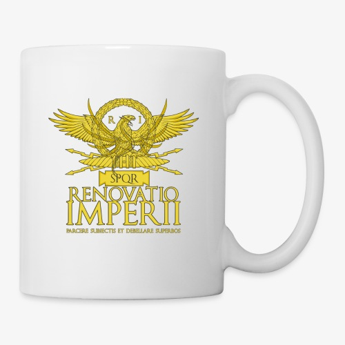 Emblema Renovatio Imperii - Tazza