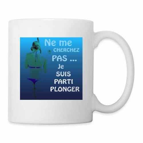 Parti Plonger - Mug blanc