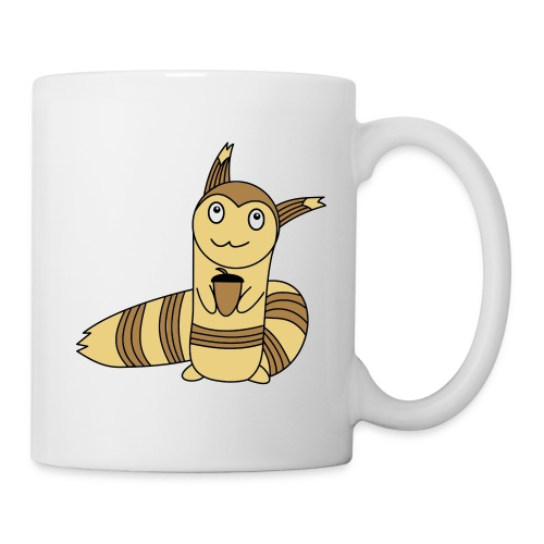 Wiesel in Farbe - Tasse