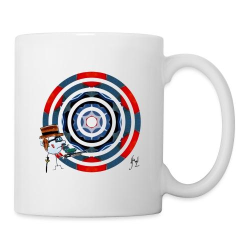 Action - Mug blanc