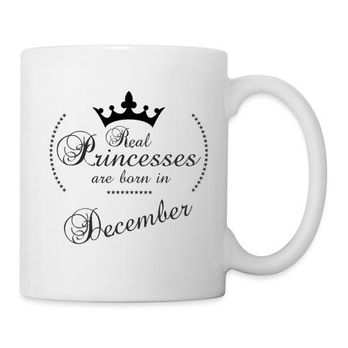 Real Princesses black December - Tasse