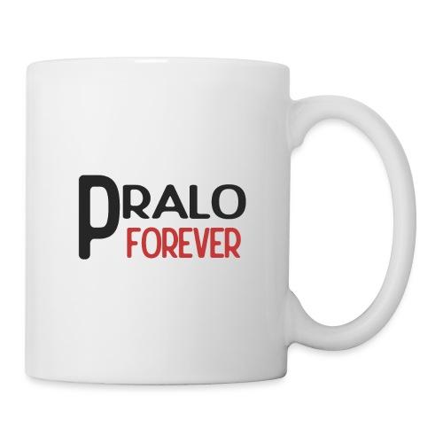 pralo forever noir et rouge - Mug blanc