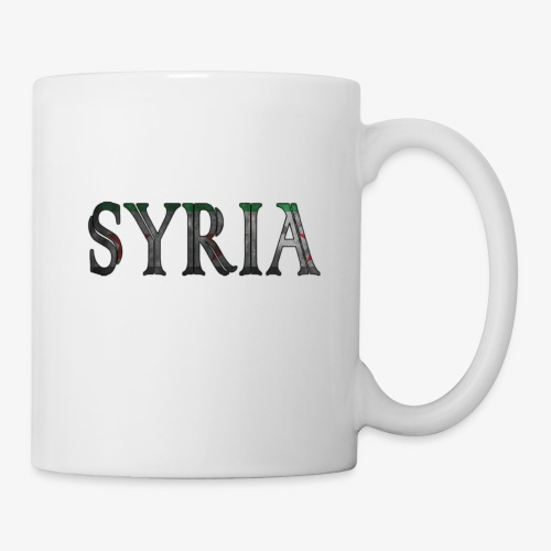 Free syria - Mugg