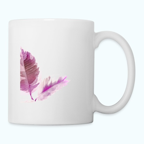 Tropical leaf Nature Zen watercolor - Mug
