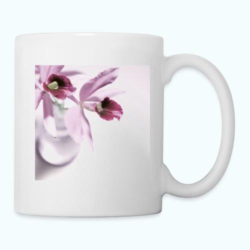 Orchid Vase Watercolor Minimalist - Mug