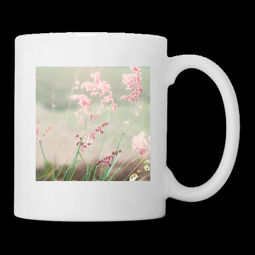 Summer meadow watercolor nature - Mug